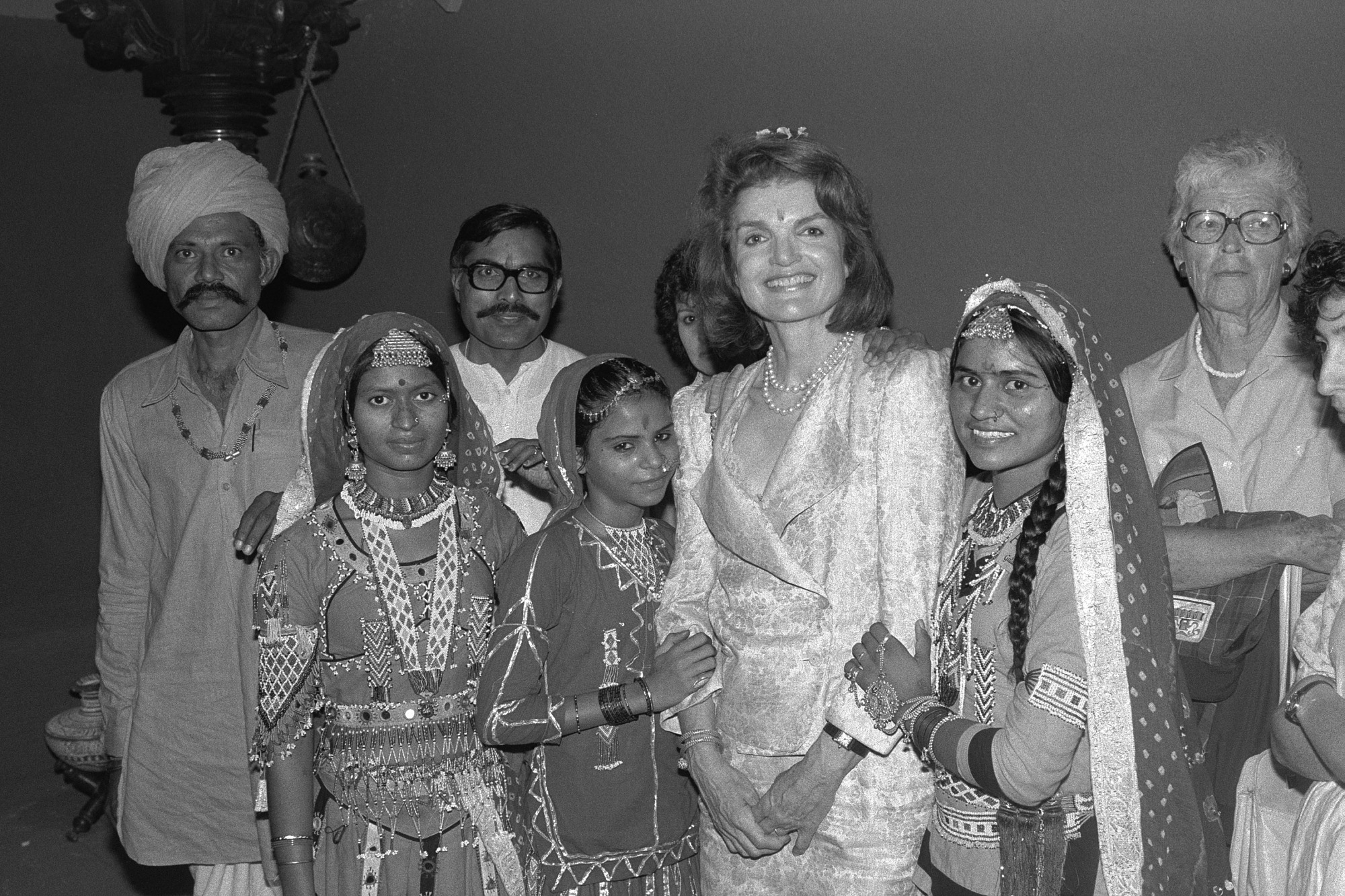 Jacqueline Kennedy Onassis at National Museum of Natural History