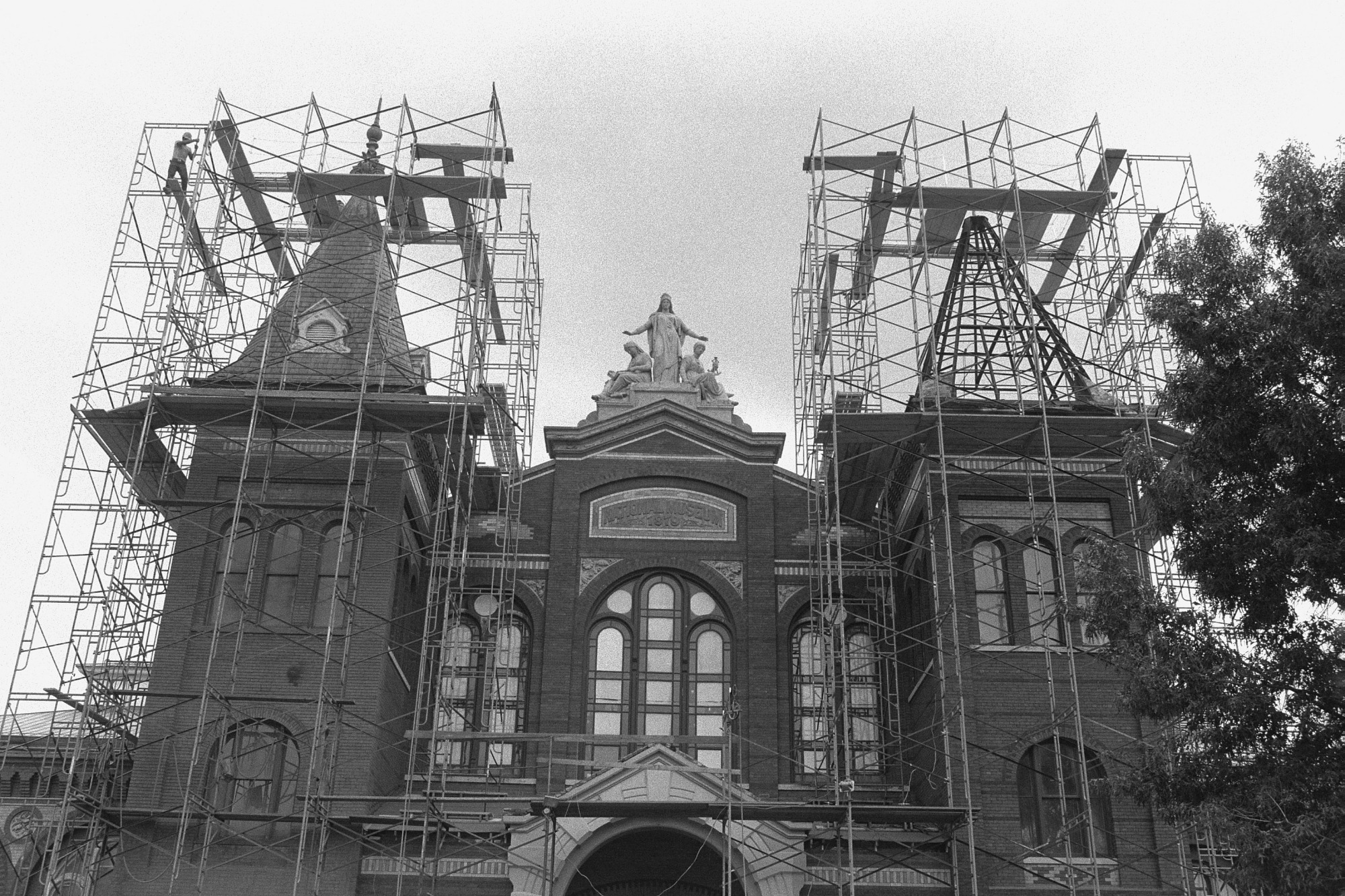 Restoration of the A&I Building