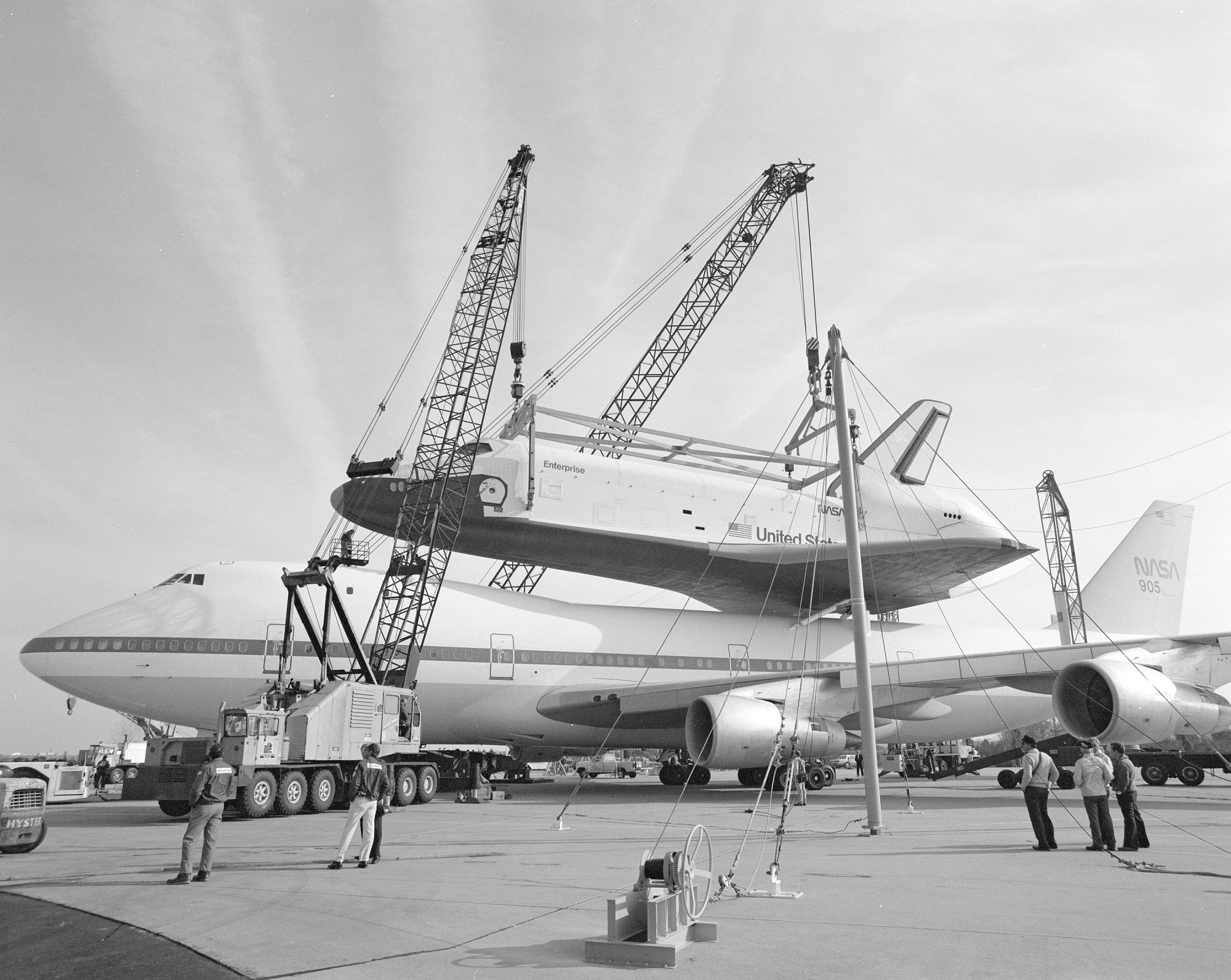 "Space Shuttle ""Enterprise"" Comes to NASM"