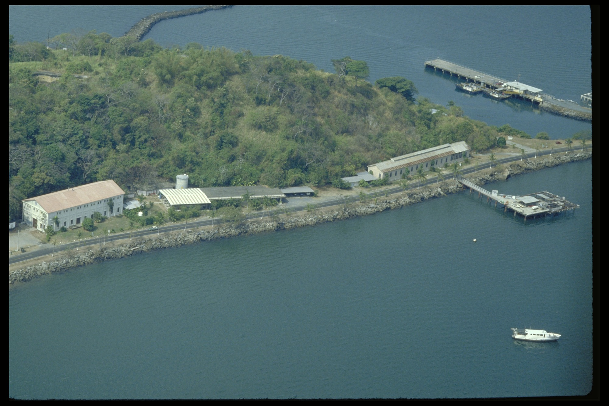 Preview of Aerial View of Naos, Panama, STRI