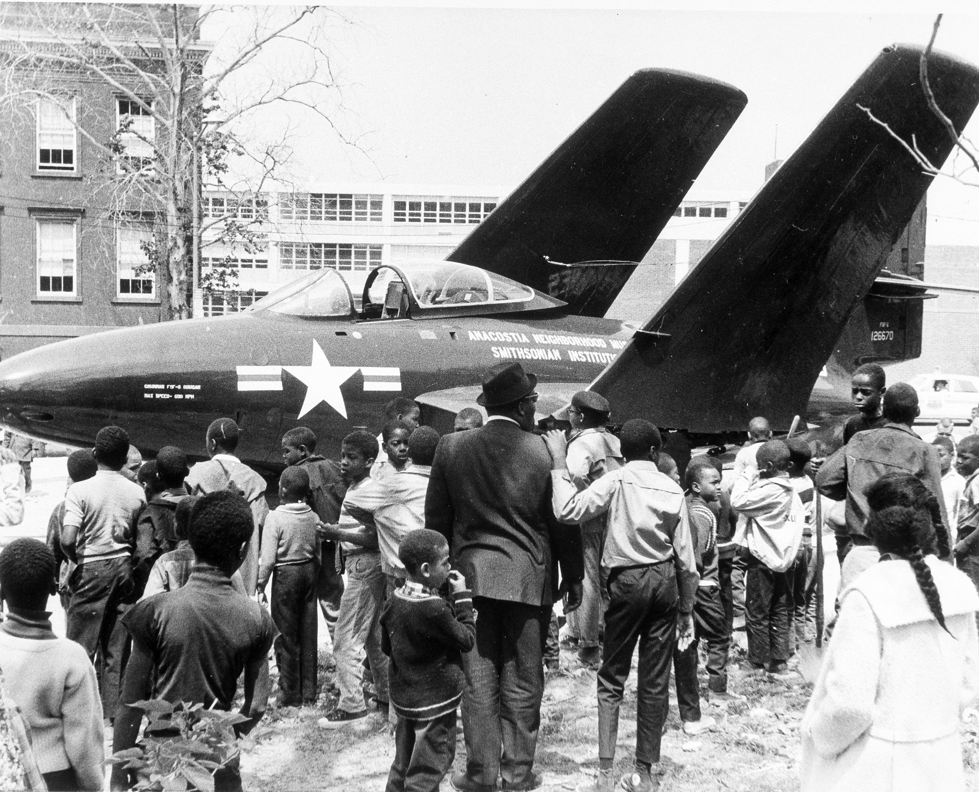 Fighter Plane on Exhibit at Opening of ANM