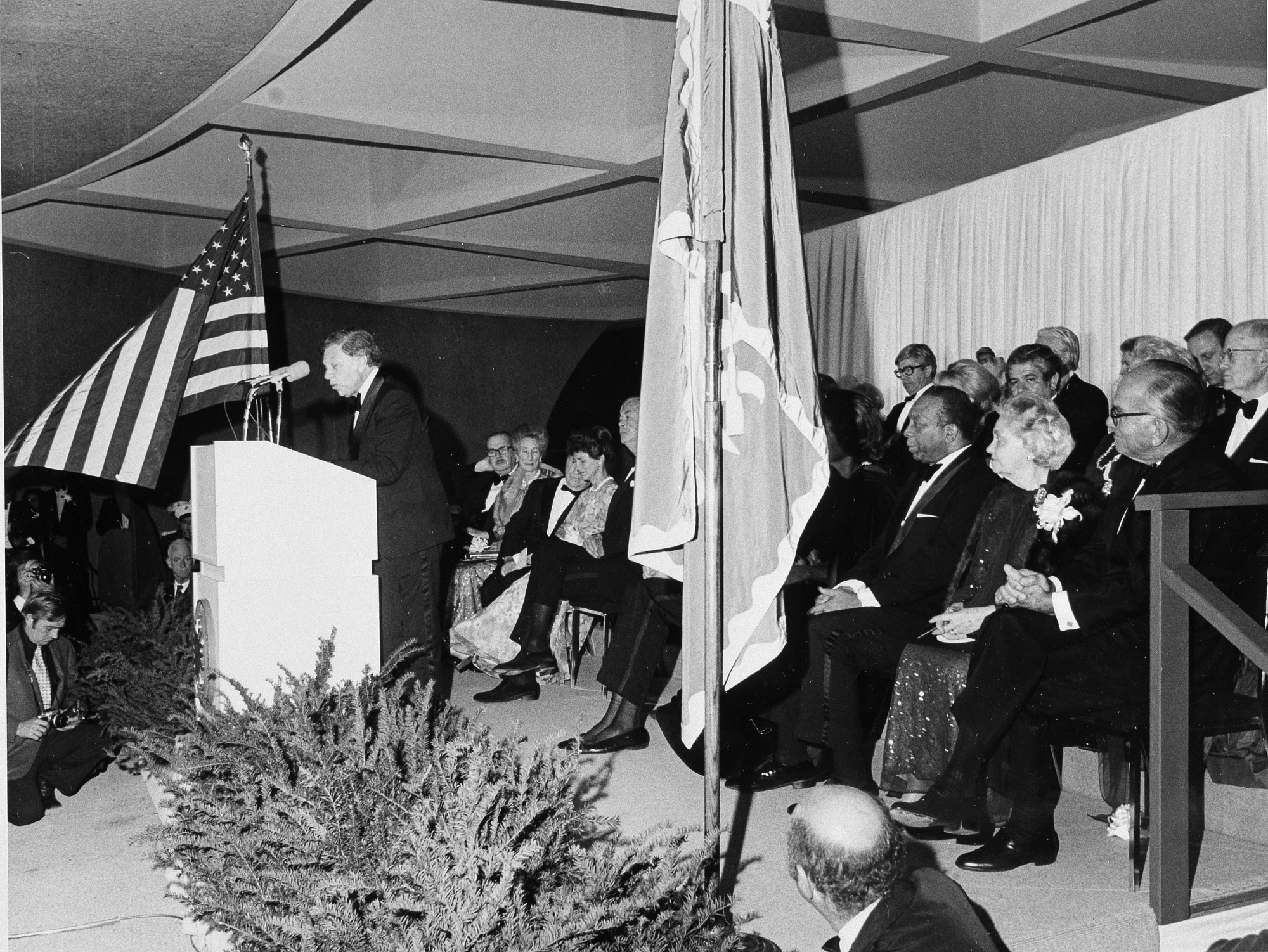 Opening Night, HMSG, by Unknown, 1974, Smithsonian Archives - History Div, 92-1643.