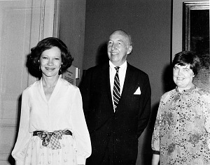 Image of Rosalyn Carter at the American History Museum
