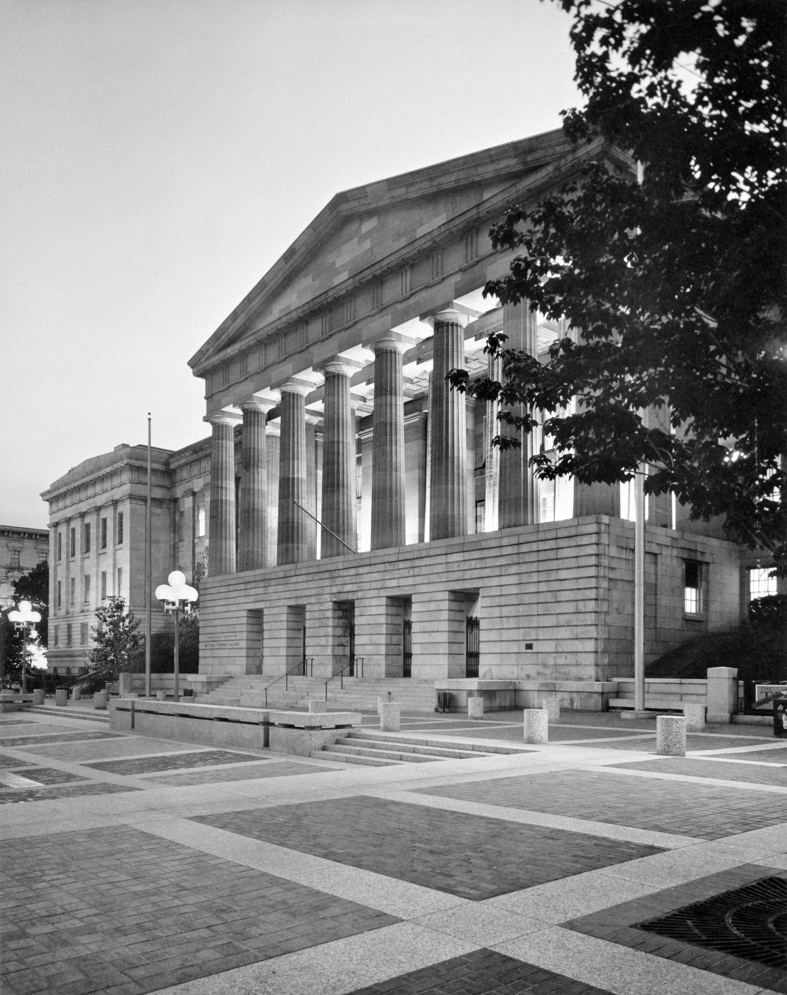 National Portrait Gallery, by Unknown, 1978, Smithsonian Archives - History Div, 92-1710.