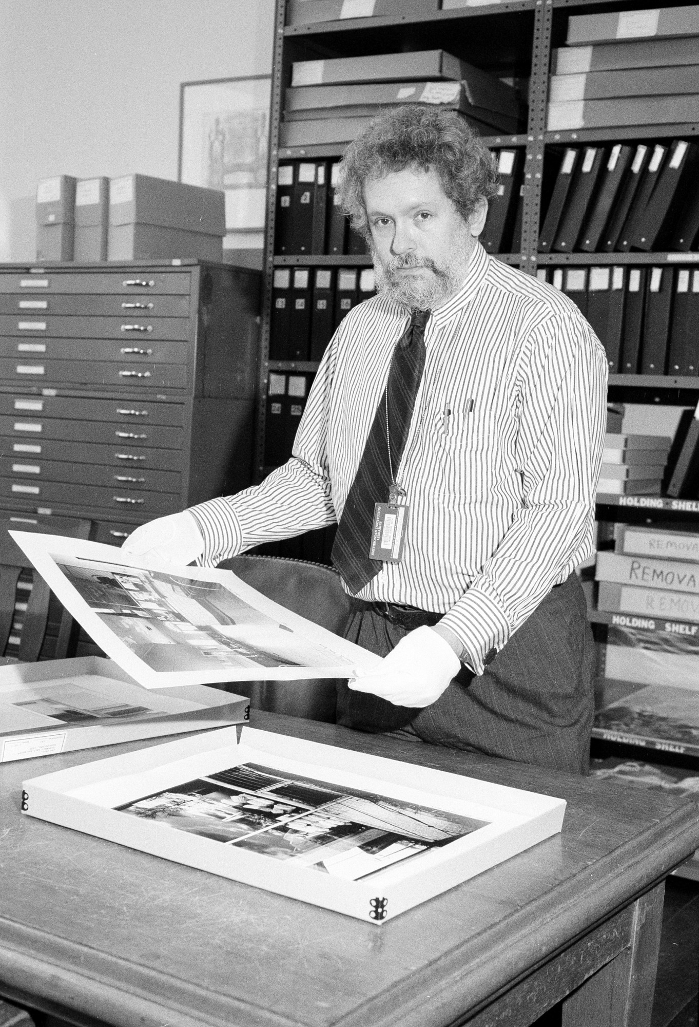 David Haberstich, by Tinsley, Jeff, 1993, Smithsonian Archives - History Div, 93-15890-7.