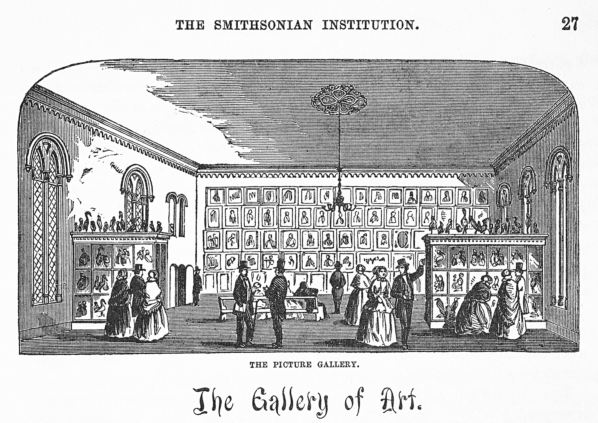 Gallery of Art in the Smithsonian Institution Building