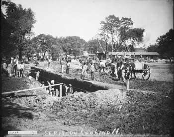 Preview of Digging the Foundation for National Museum of Natural History, 1904