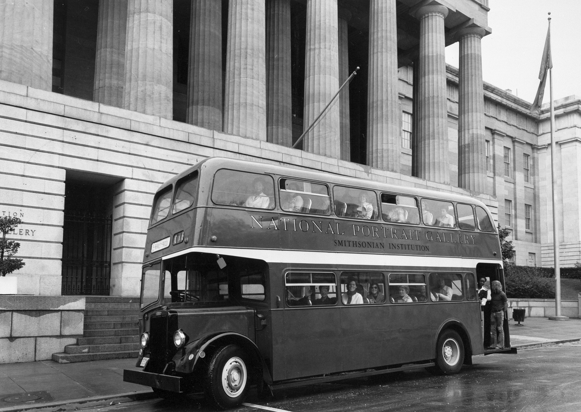 NPG's Double Decker Shuttle Bus