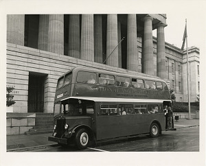 Image of National Portrait Gallery Double Decker Shuttle Bus