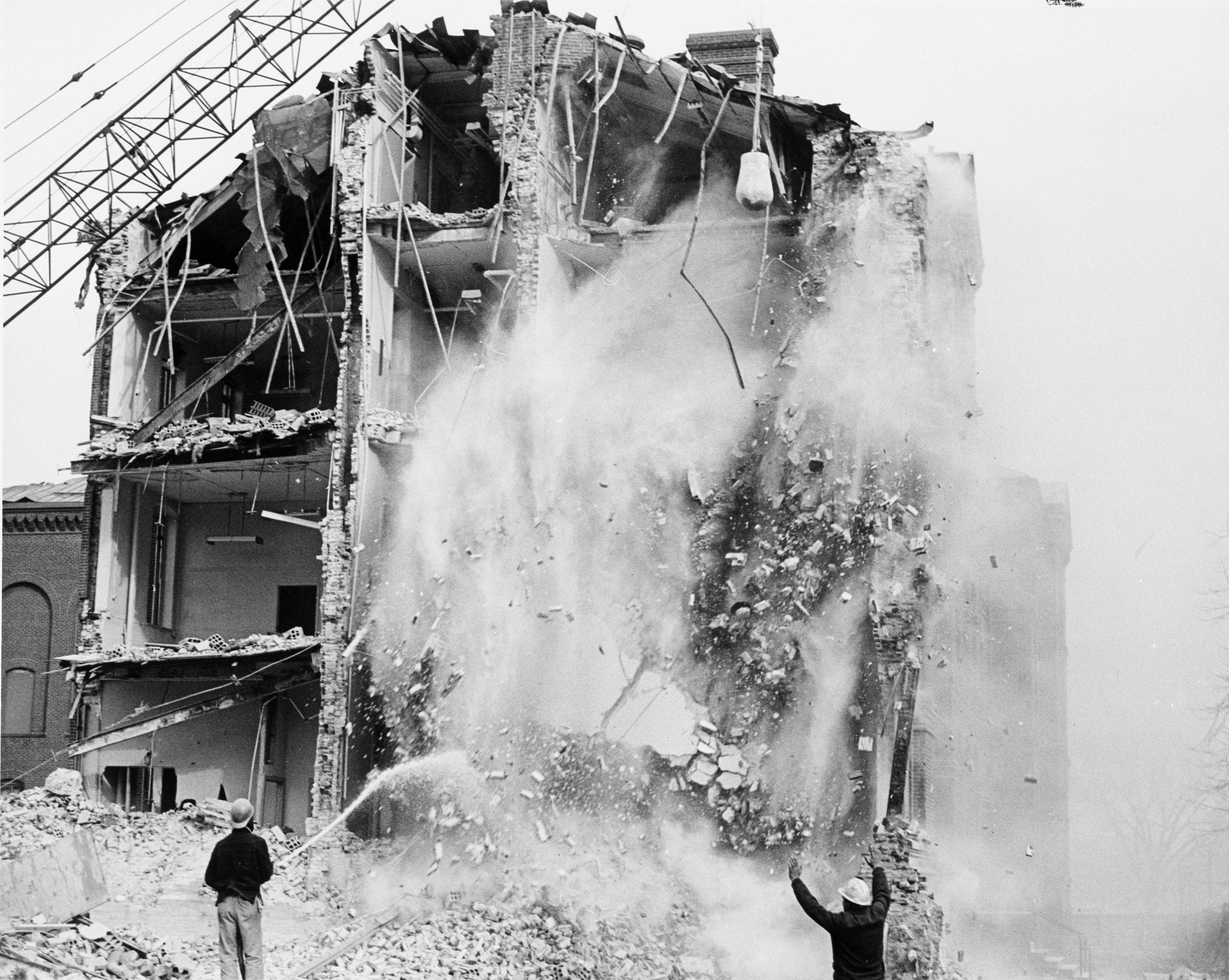 Demolition of Army Medical Museum