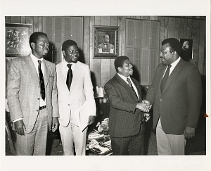 Image of Officials from Togo Tour Anacostia Neighborhood Museum