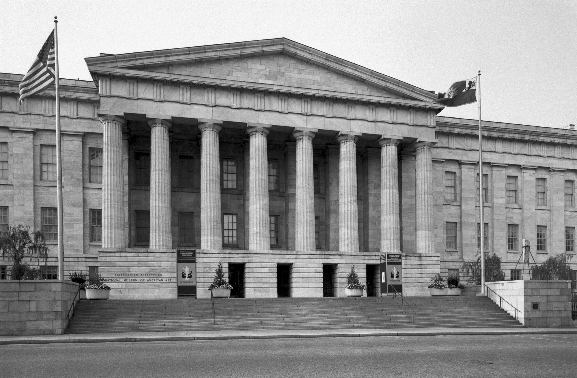 Patent Office Building Exterior, Home of Smithsonian American Art Museum