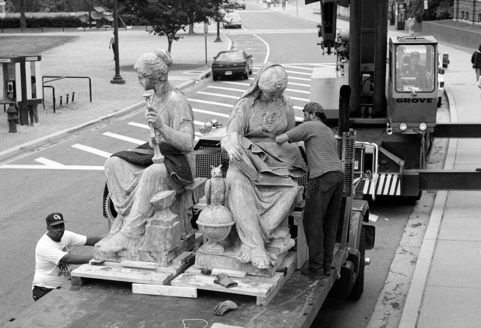 Science and Industry Statues Being Removed for Conservation