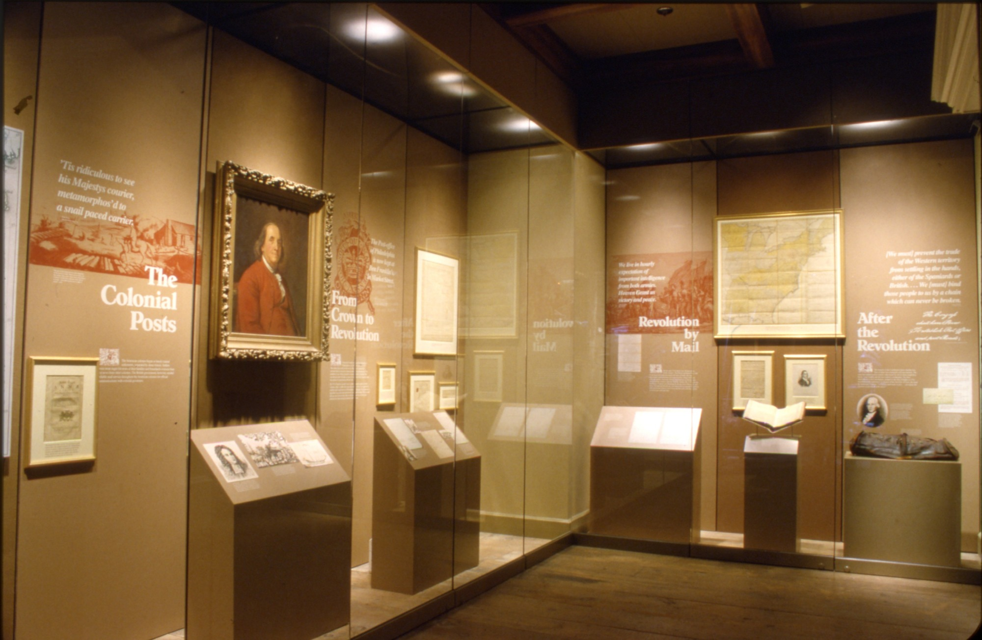 """The """"Starting the System"""" Section of """"Binding the Nation"""" Exhibit, NPM"""