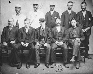 Image of United States National Museum Labor Force, c. 1890