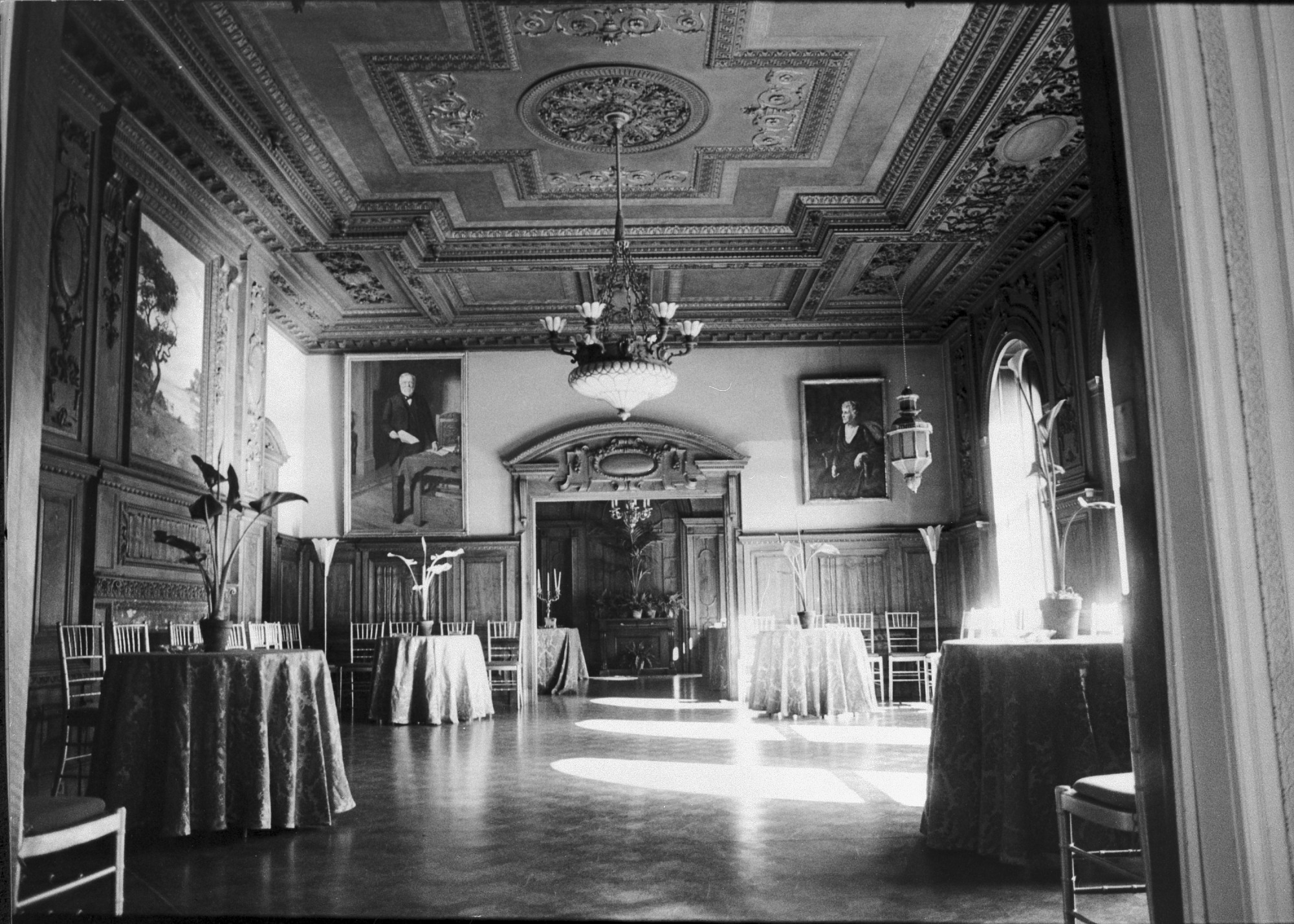 Dining Room, Renovated Carnegie Mansion