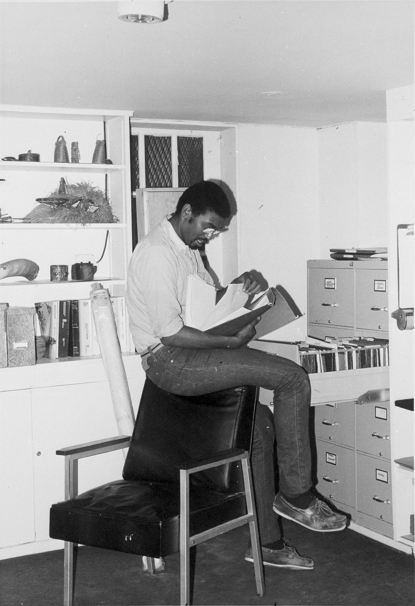 Michael A. Barclay-Watson, by Unknown, 1978, Smithsonian Archives - History Div, 96-1002.