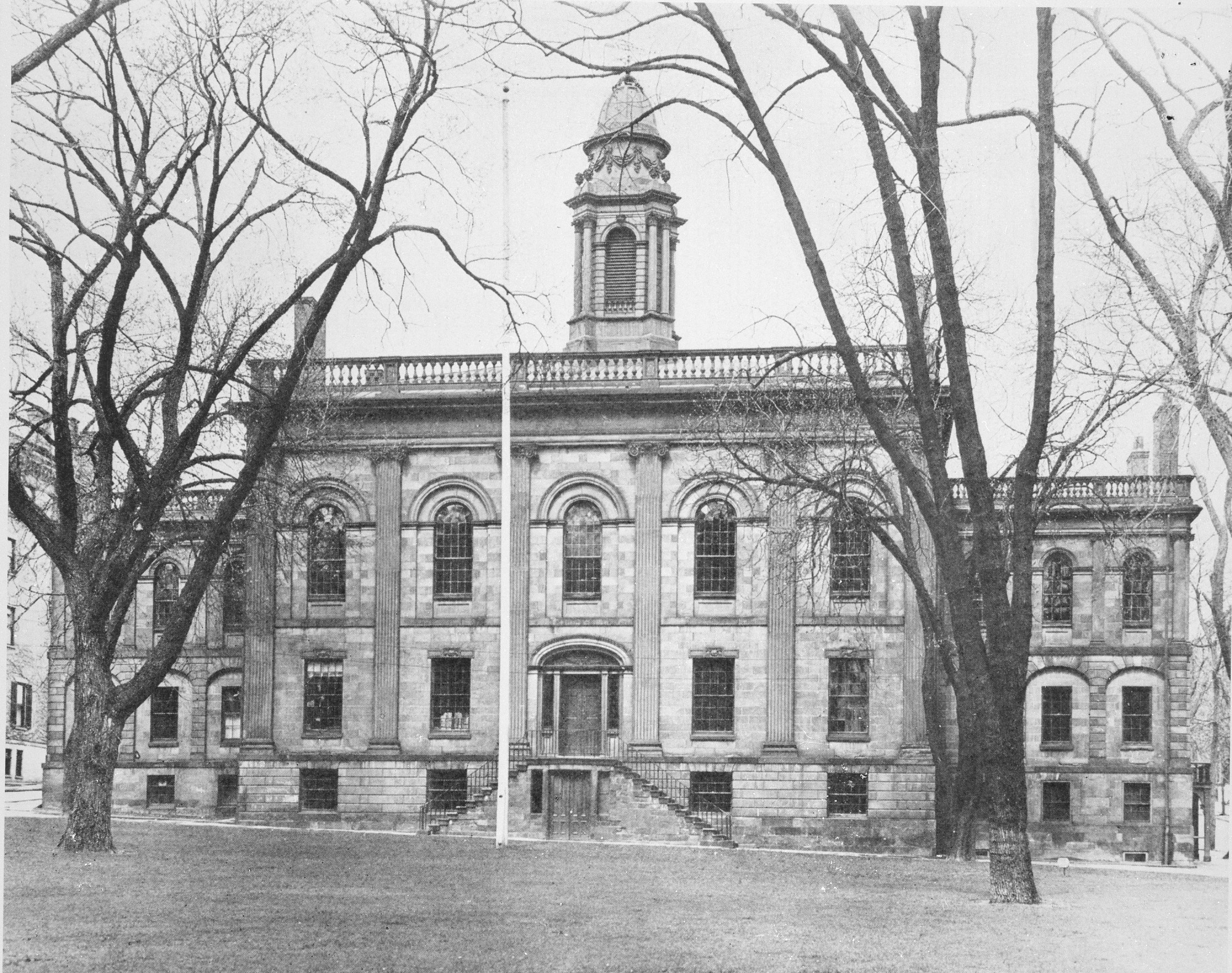 Image is of the Albany Academy, Albany, New York, Smithsonian Institution Archives, negative number 96-4474.