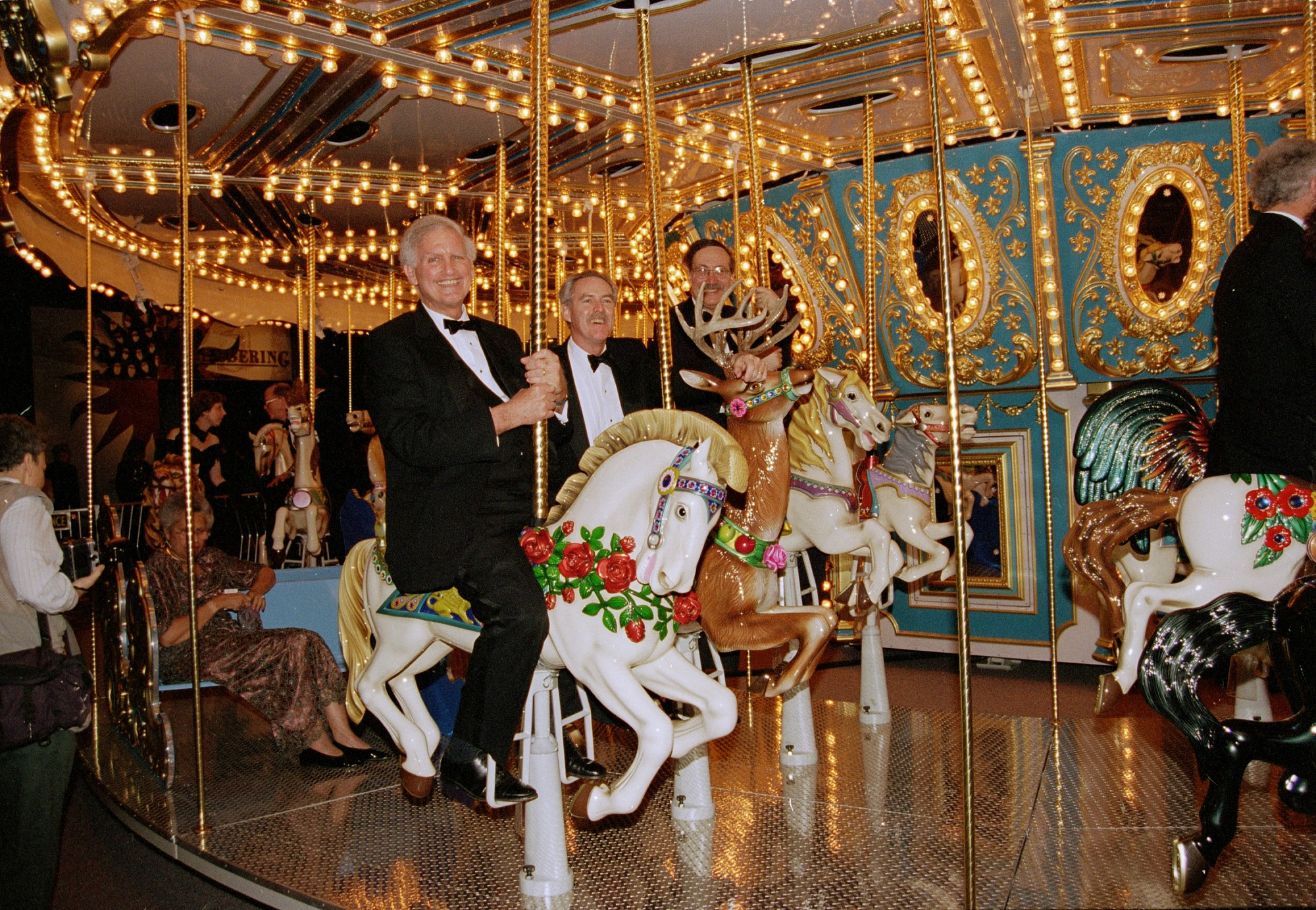 "Riding the Carousel, ""America's Smithsonian"" at L.A. Convention Center"