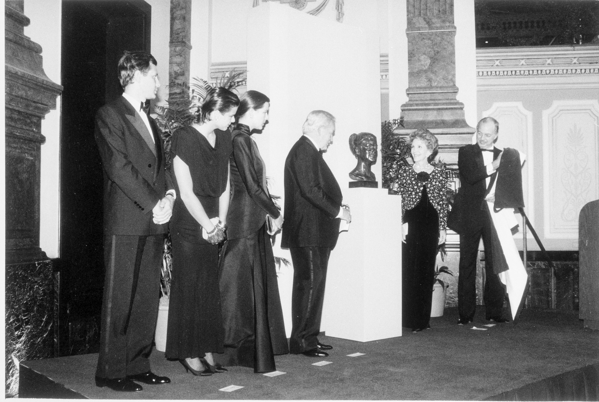 Princess Grace Sculpture Presented to NPG