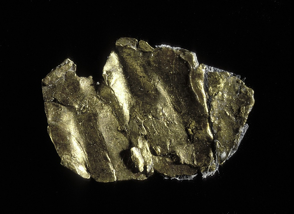 Description This Small Piece Of Yellow Metal Is Believed To Be The First Gold Discovered In 1848 At Sutter S Mill California Launching