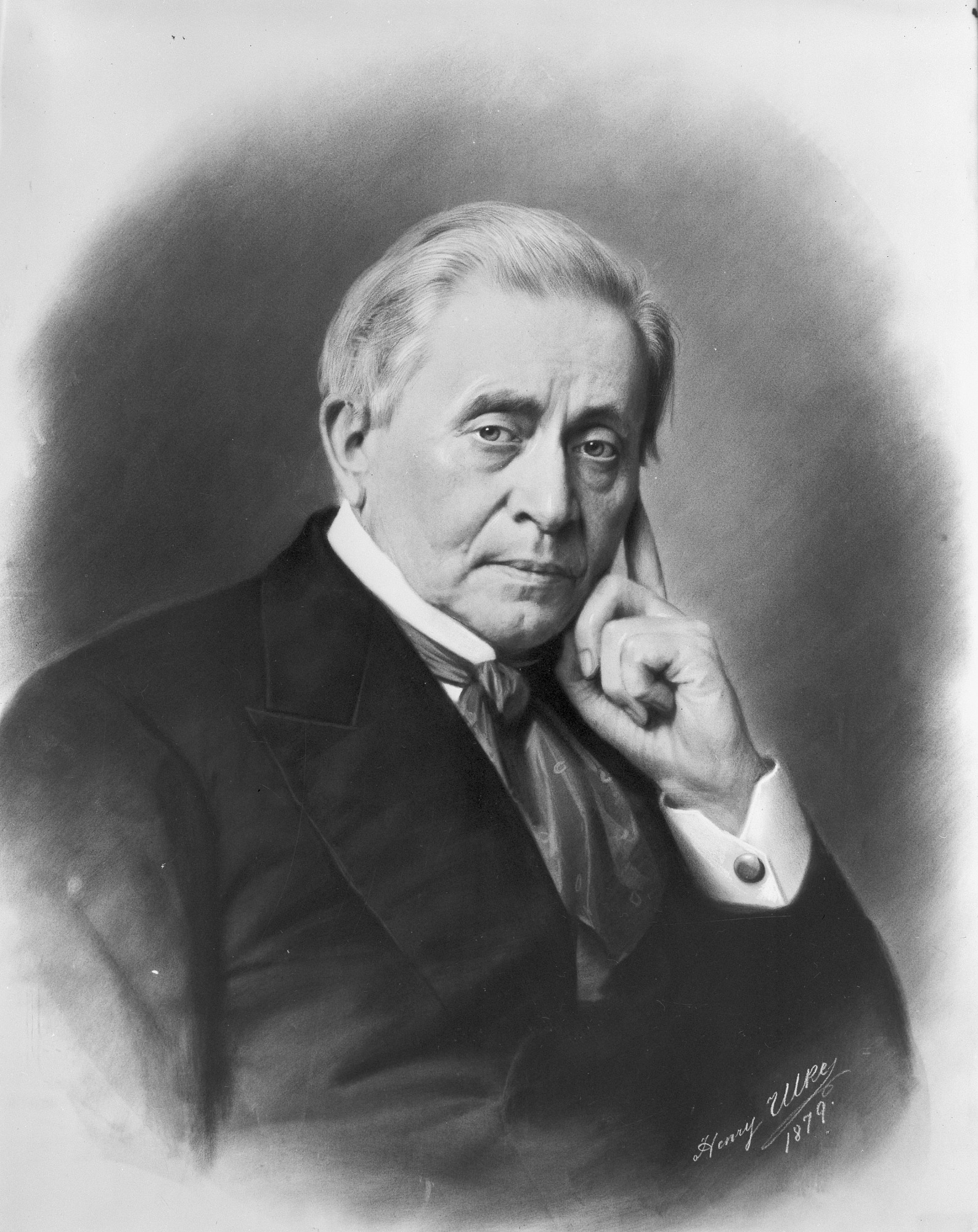 Joseph Henry Portrait, by Ulke, Henry, Smithsonian Archives - History Div, 10191or AI-10191.