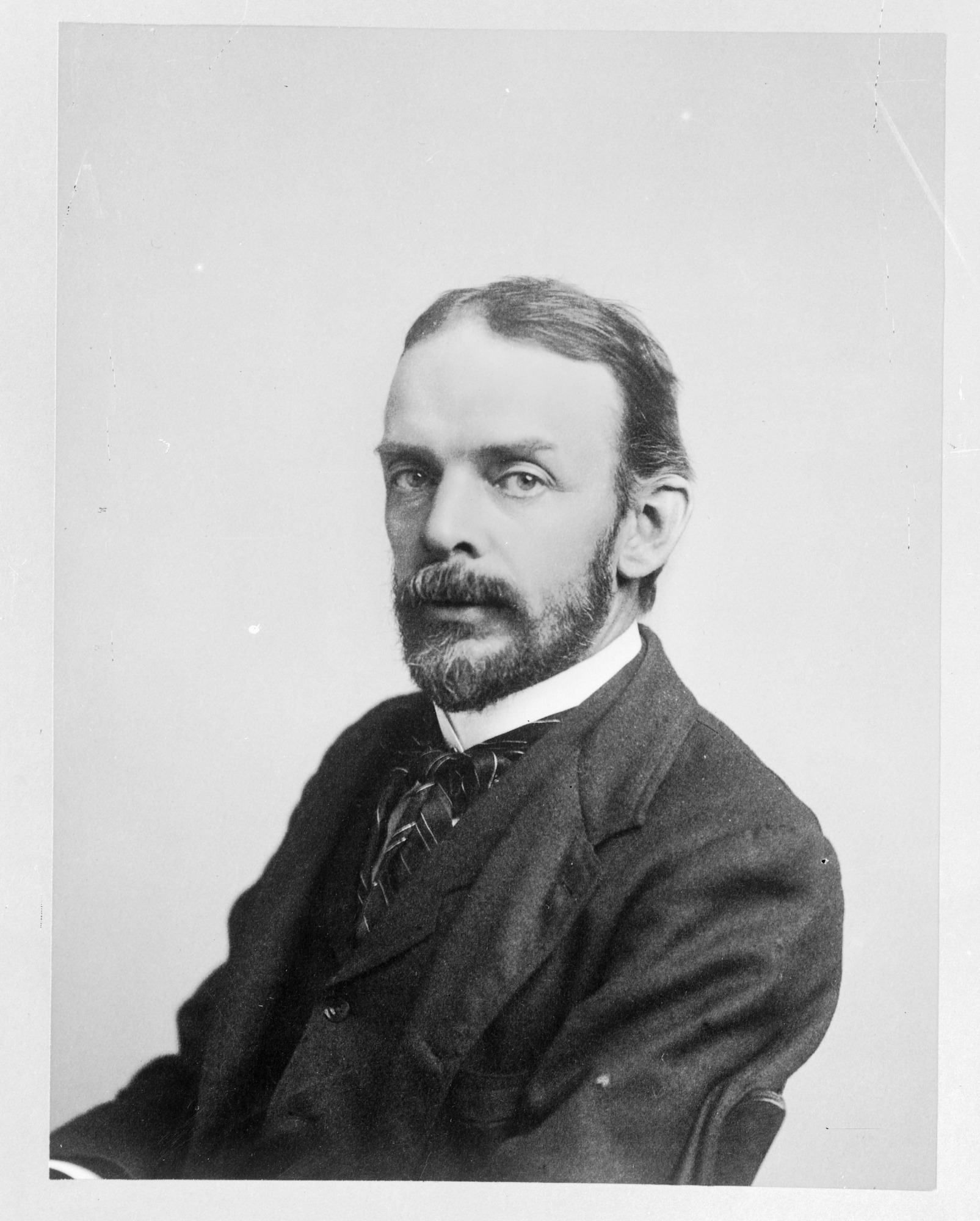 George Brown Goode, by Unknown, c. 1880s, Smithsonian Archives - History Div, 11776 or MAH-11776.