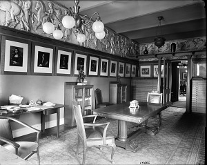 Image of Art Room in Smithsonian Institution Building, 1903