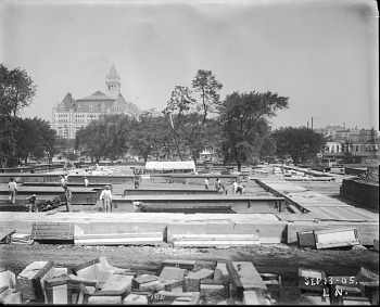 Preview of Construction of the U.S. National Museum, 1905