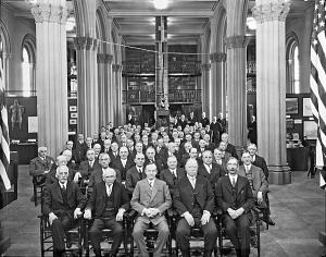 Image of Attendees at Conference on Future of Smithsonian Institution