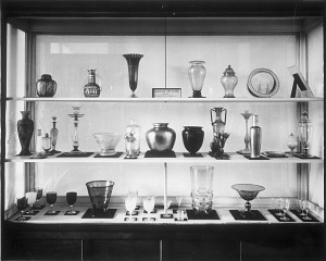 Image of American Art Glass Exhibit, United States National Museum