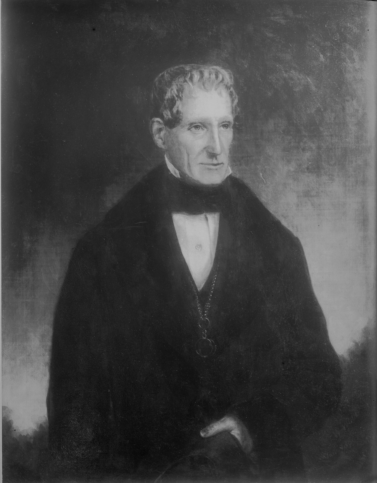 Image is of Richard Rush, 1856, Smithsonian Institution Archives, negative number mah-21419.
