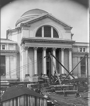 Preview of Construction, Natural History Building