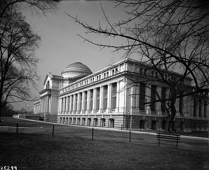 Image of Natural History Building Before Wing Additions
