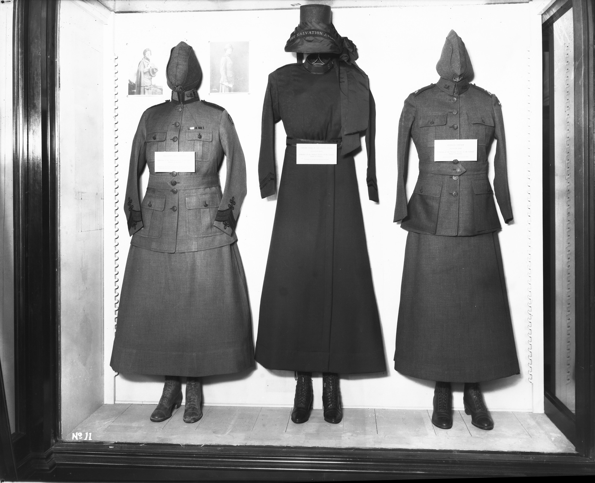 Left To Right Generals Uniform Salvation Army US Overseas