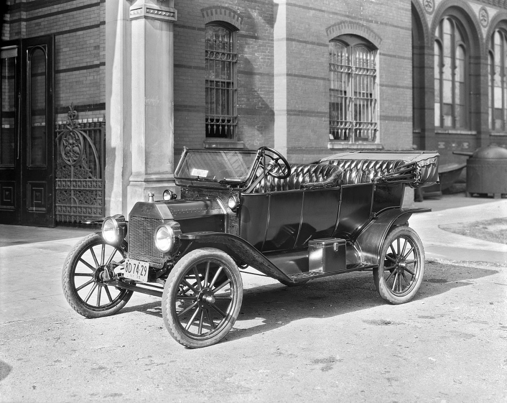 model t ford history