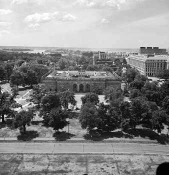 Preview of Aerial View of the Freer Gallery