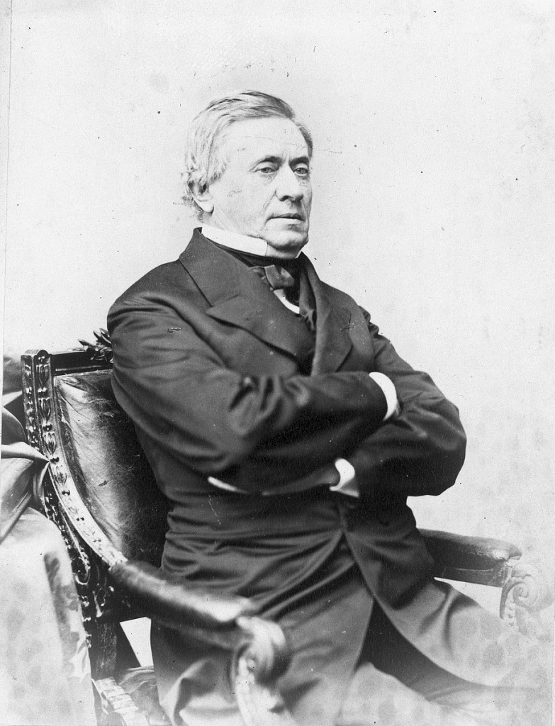 Photograph of Joseph Henry by Brady's, c. 1875. Smithsonian Institution Archives, negative number mah44307.