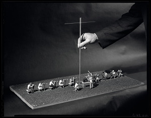 Image of Model of Operation Moonwatch Team