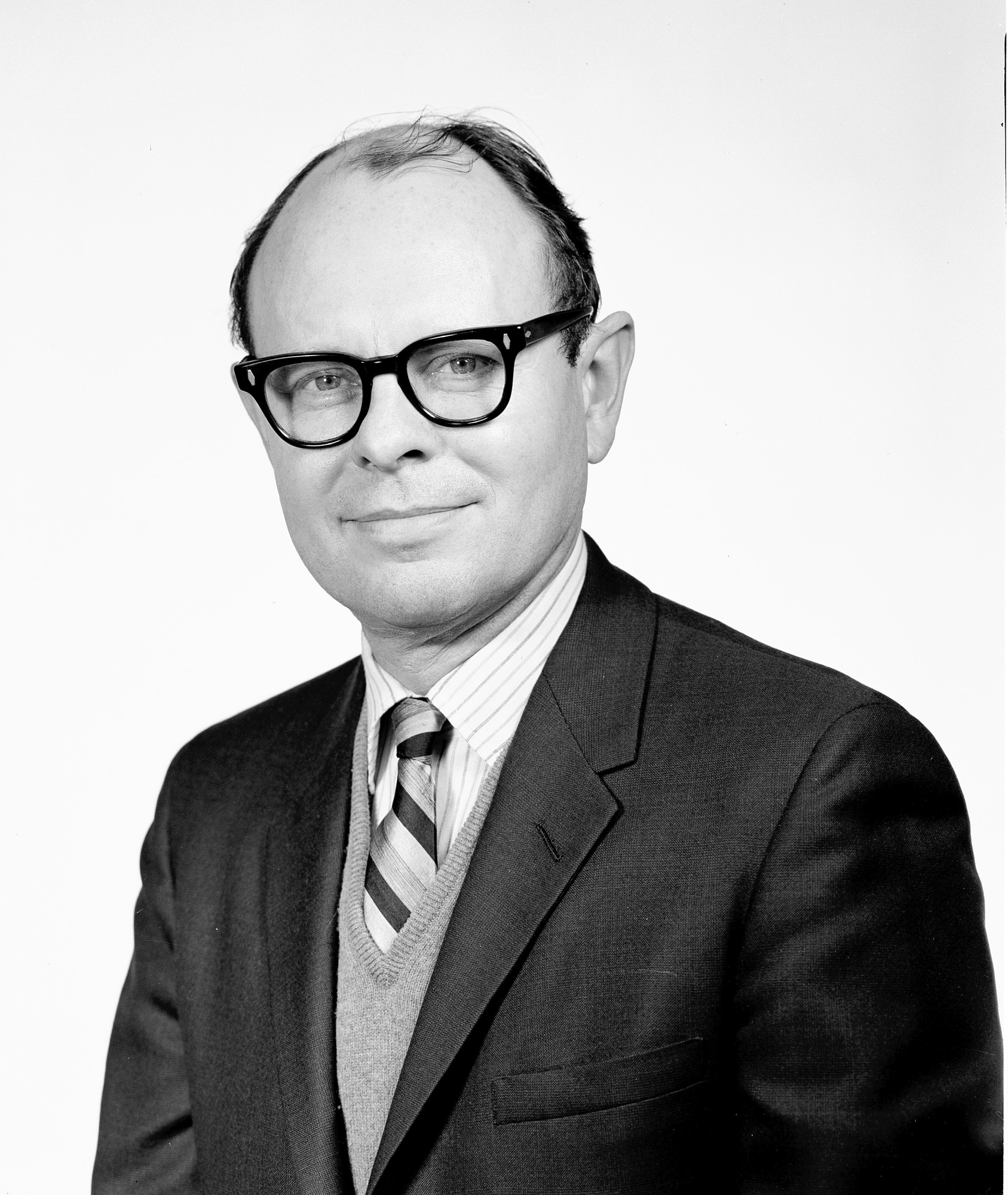 Robert P. Multhauf, by Unknown, c. 1970, Smithsonian Archives - History Div, MAH64181.
