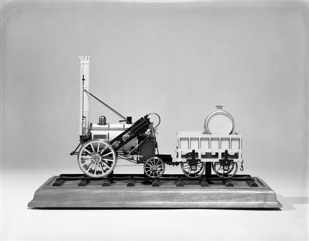 rocket steam engine