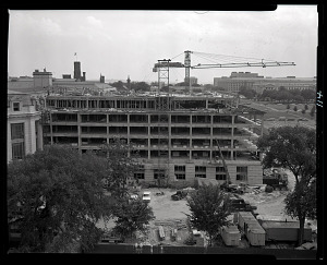 Image of Construction of West Wing of Natural History Building