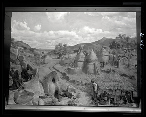 Image of Iron Working in Africa Mural