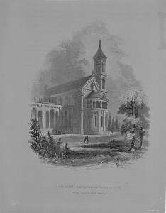 Image of Exterior of Smithsonian Institution Building, West Wing