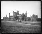 Exterior View of the Smithsonian Institution Building, or Castle, 1885