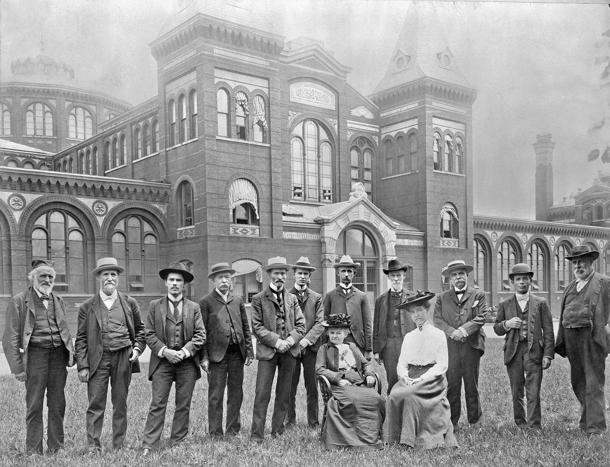 Department of Anthropology Staff, 1904