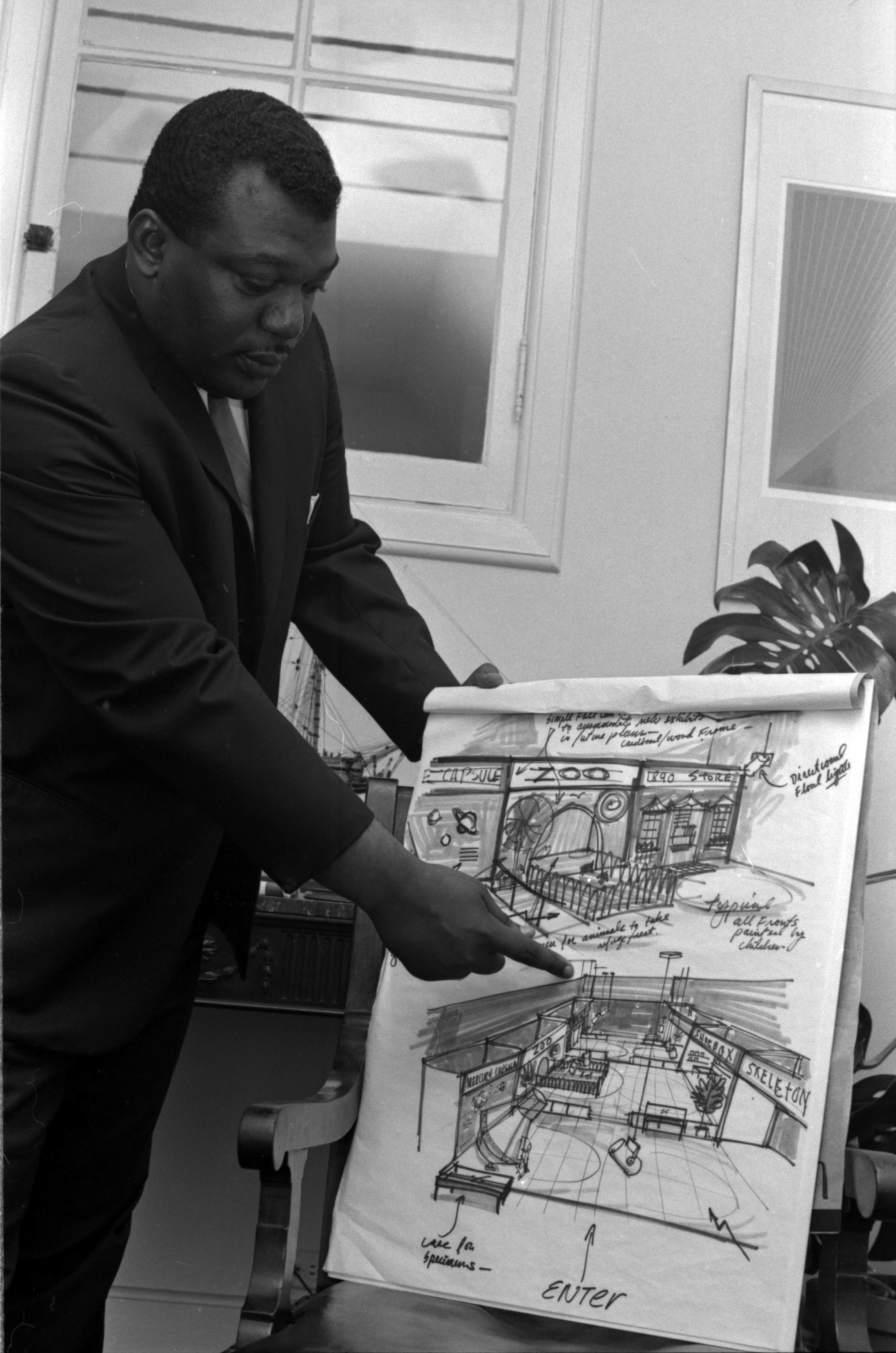 John R. Kinard, Director of the Anacostia Neighborhood Museum