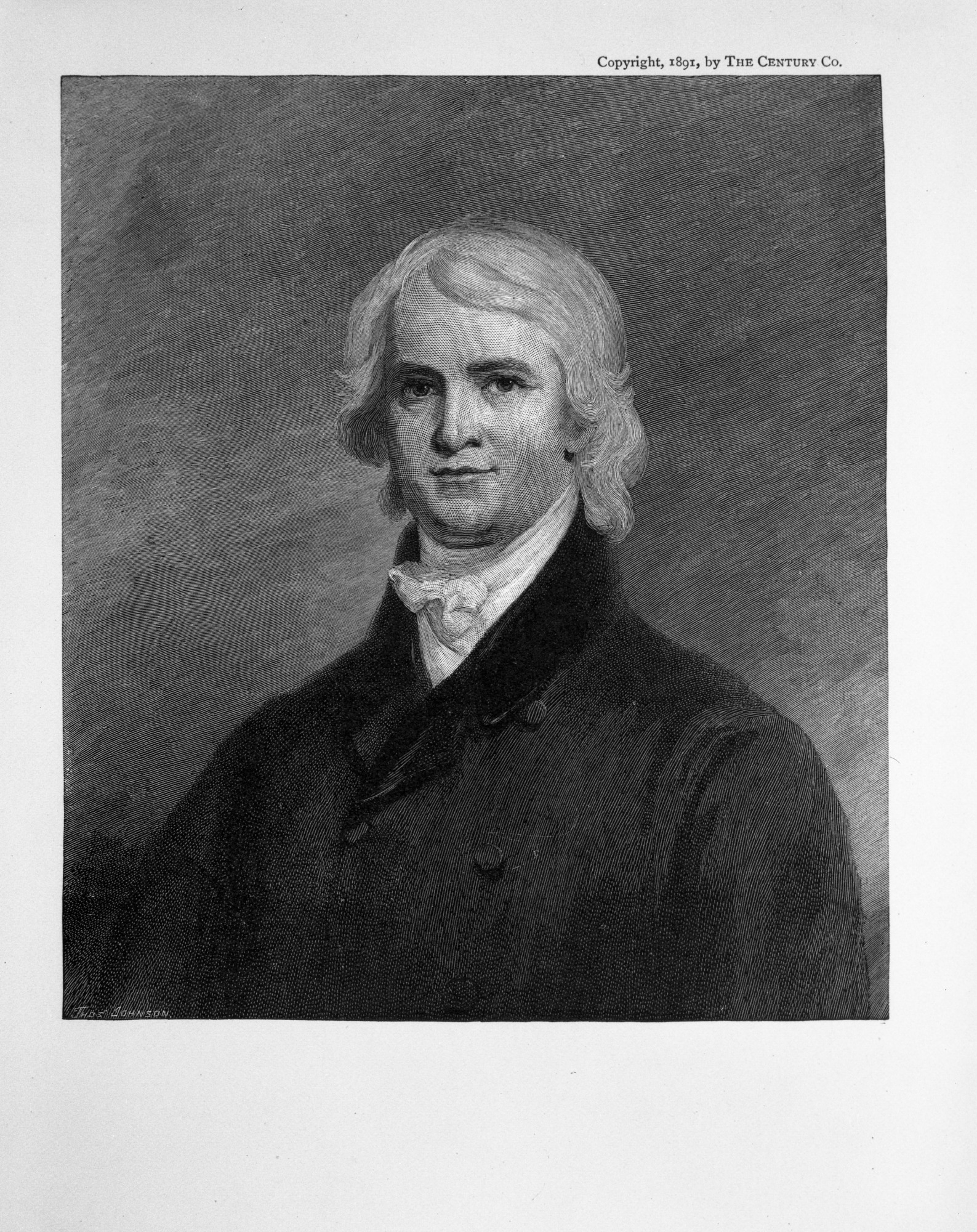 George Mifflin Dallas, Chancellor of Regents, by Joseph Henry Papers Project, c. 1830s, Smithsonian Archives - History Div, SA-448.