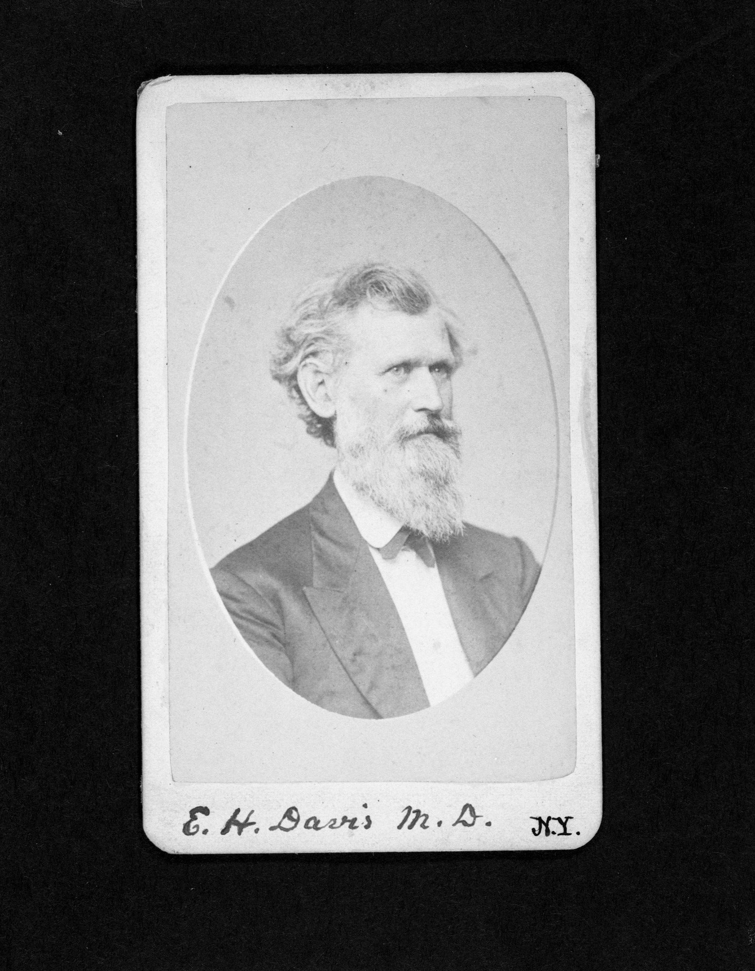 Edwin Hamilton Davis, by Joseph Henry Papers Project, c. 1860s, Smithsonian Archives - History Div, SA-458.