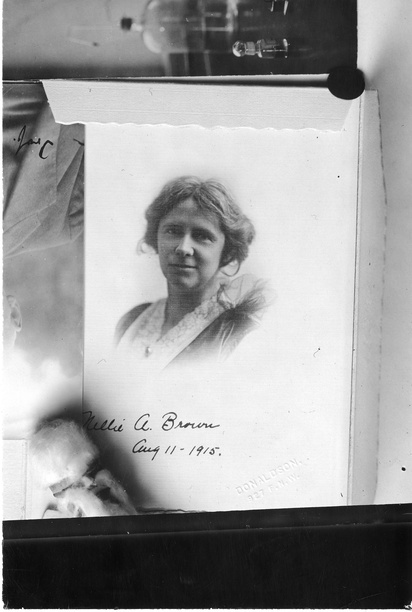 Nellie A. Brown (1876-1956), Smithsonian Institution Archives, SIA Acc. 90-105 [SIA2007-0423].